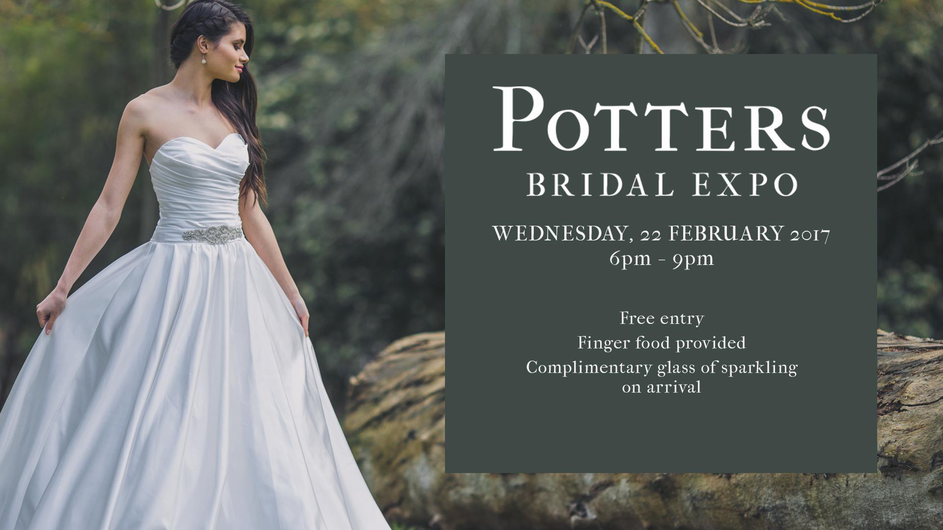 Wedding Bridal Expo at Potters Receptions